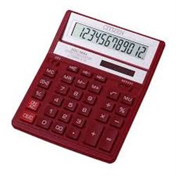 Citizen Calculadora S/Mesa 12 Digitos Roja SDC-888XRD - SDC-888