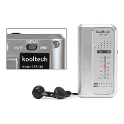 Kooltech Radio Am/Fm Mini C/Auriculares CPR-106 - CPR-106