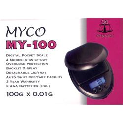 Myco Básculas Mini 100gm MY-100 - MY-100 001