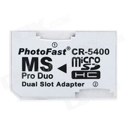 Adaptador Micro Sd A Pro Duo Ms AM - AM