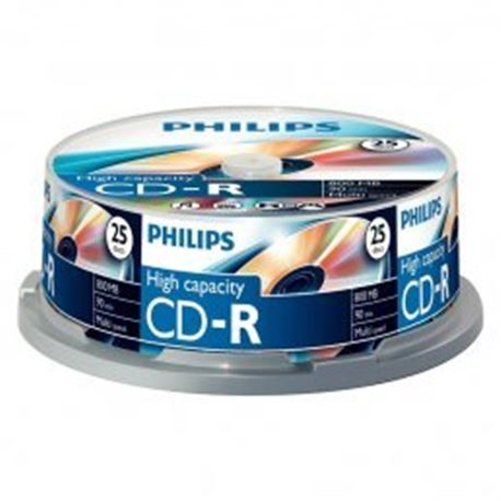 Verbtain/Philips Cd Tarina de 25 cd CDR-80 - CDR-80PH25