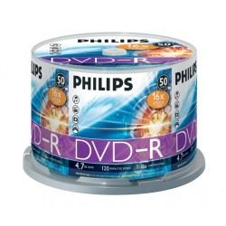 Verbatin/philiphs DVD-R Tarrina 50 Uds D50-