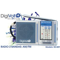 Digivolt Radio Am/Fm Mini Horizontal RD-809 - RD-809