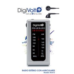Digivolt Radio Am/Fm Mini C/Auricular RD-812 - RD-811