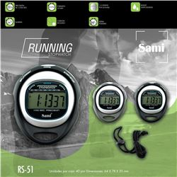 Sami Cronometro Reloj Stopwatch Running RS-51 - RS-51