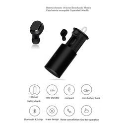 Auricular Bluetooth Mini C/Powerbank i8 LYEJ59 - LYEJ59