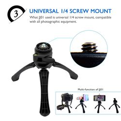 Tripod Mini Plegable Cameras y Moviles PHO-T001