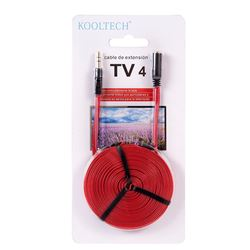 Cable Alargador Jack 3.5 M a H 4mt TV-4