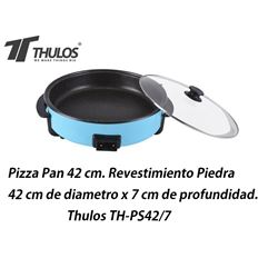 Thulos Pizza Pan Revestimiento piedra 42cm 7cm F TH-PS42/7 - TH-PS42