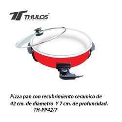 Thulos Pizza Pan Cerámica 42cm TH-PP42/7 - TH-PP42