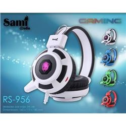 Sami Auriculares Gaming Luz Multicolor Pc RS-956 - RS-956