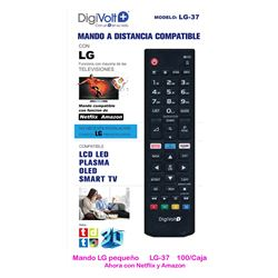 Digivolt Mando Universal Para LG LG-37 - MD LG-37 LG SMALL TV ONE TO ONE REMOTE