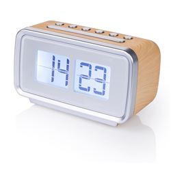 Audiosonic Radio/Reloj Despertador Retro CL-1474 - CL-1474