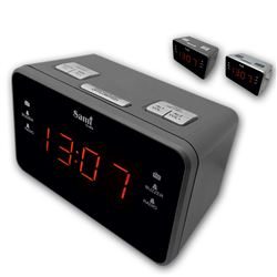 "Sami Radio/Reloj XL 0.9"" Display 2 Alm RS-4534 - RS-4534"