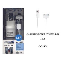 Digivolt Cargador If Iphone 3/4 1500ma QC-2409 - QC-2409