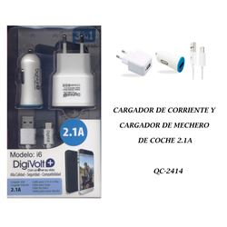 Digivolt Cargador If i6 y i5 1.5am 3 en 1 I6 - I6