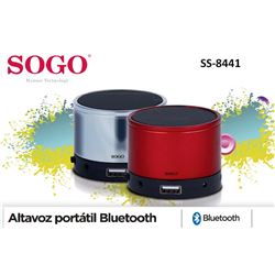 Sogo Altavoz Mini Bluetooth SS-8441 - SS-8441 (2)