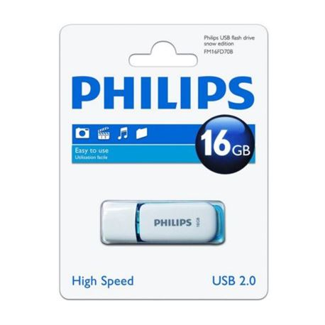 Pen Drive Usb 2.0 16Gb DTI-16G - PHILIPS PEN 16GB