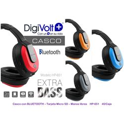 Digivolt Auricular Casco Bluetooth C/ Sd Micro HP-651 - HP-651