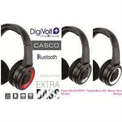 Digivolt Auricular Casco Bluetooth C/ Sd Micro HP-652 - HP-652