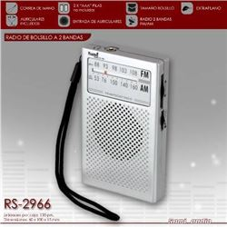 Sami Radio Am/Fm Mediano Vertical C/Aur RS-2966 - RS-2966