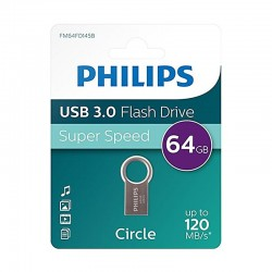 Pen Drive 064Gb Usb 3.0 Philips DTI-CIRCLE-PHILIPS