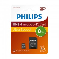 Tarjeta Memoria Micro Sd 008Gb Class 10 SD-8G10-PHILIPS