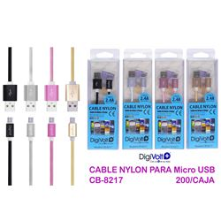 Digivolt Cable Micro Usb Nylon 2.4a CB-8217
