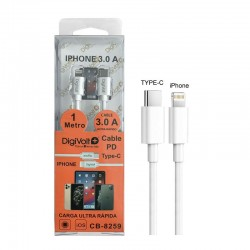 Digivolt Cable PD Type-C a Iphone 3.0A CB-8259