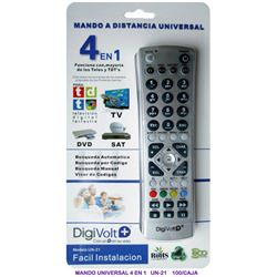 Digivolt Mando Universal Tv Sat Tdt 4 IN 1 UN-21