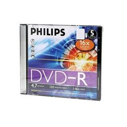 Verbatin/Philphs DVD-R jewel Box DVD-R - D-PH