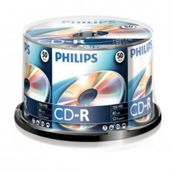 Verbtain/Philips Cd Tarina de 50 cd CDR-80 - CDR-80PH50