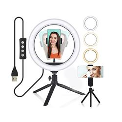Digivolt Anillo Led Regulable para Selfie con Trípode AL-4462