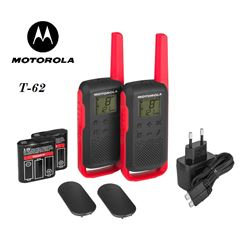 Motorola Walkie Talkies PMR446 8km Bat Rech T62 - T-62