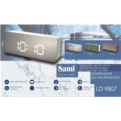 Sami Despertador Digital LED LD-9807 - LD-9807