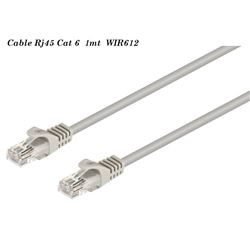 Cable Red Rj-45 Cat 6 Utp M a M 1 mtr WIR612 - WIR612