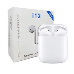 Auricular Bluetooth Doble C/Powerbank I12 LYEJ984 - I12TWS