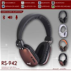 Sami Auriculares Bluetooth Recargable RS-942 - RS-942