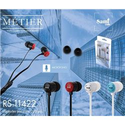 Sami Auricular Silicona METIER Mini C/Micro RS-11422 - RS-11422