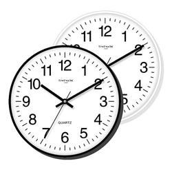 Timemark Reloj Pared 30 cm Blanco/Negro CL-45 - CL-45_B01
