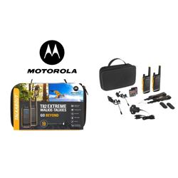 Motorola Walkie Talkies Pmr446 10km Kit T82 - T-82EX