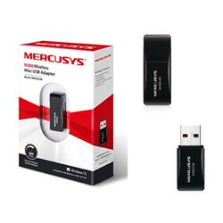 Mercusys Wifi Wireless Mini Usb 300 N300 Mbps MW-300UM - MW-300UM