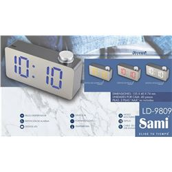 Sami Despertador Digital LED LD-9809 - LD-9809