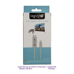Digivolt Cable MHL para Type-C a Tv Hdmi CB-8257 - CB-8257