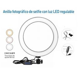 Pritech Anillo Led Regulable para Selfie PBP-331 - PBP-331