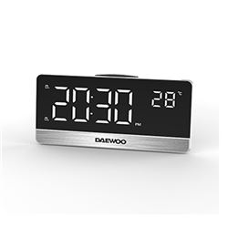 Daewoo Radio Reloj Display Gr Digital C/Temp DCR-570