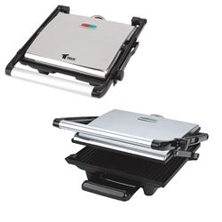 Thulos Grill Panini Eléctrico 1800-2000W TH-GP200