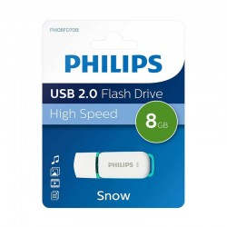 Pen Drive 8Gb Usb 2.0 Philips - DTI-8GB