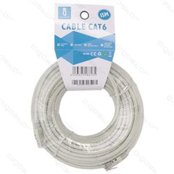 Aigostar Cable Red Rj-45 Cat 6 Utp M a M 15 mtr AG47 - AG47