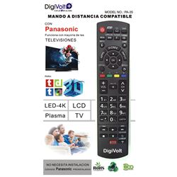 Digivolt Mando Universal Para Panasonic PA-35 - MD PA-35 PANASONIC ONE TO ONE REMOTE